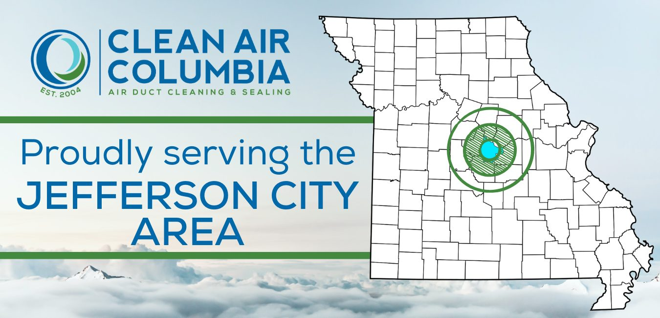 Clean Air Columbia Proudly serving the Jefferson City, MO Area